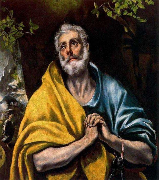 Ventas destacadas Domenikos Theotokopoulos el Greco Las lagrimas de san Pedro Galeria Caylus