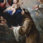 Catalogo Aparición de la Virgen y el Nino a San Francisco en la Porciuncula Juan Carreno de Miranda Galeria Caylus
