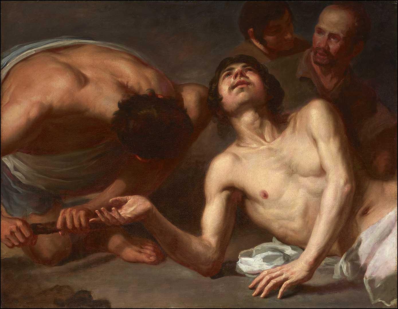 Catalogo Estudios para un Martirio de san Lorenzo Jusepe Leonardo Galeria Caylus