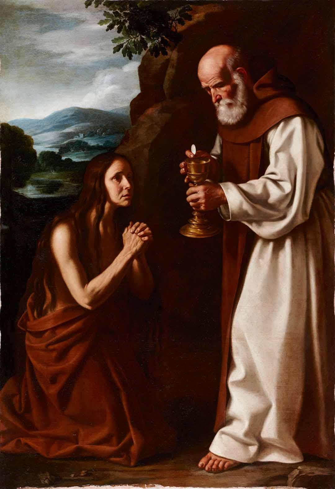 Catalogo La ultima comunion de santa Maria Egipciaca Pedro de Orrente Galeria Caylus