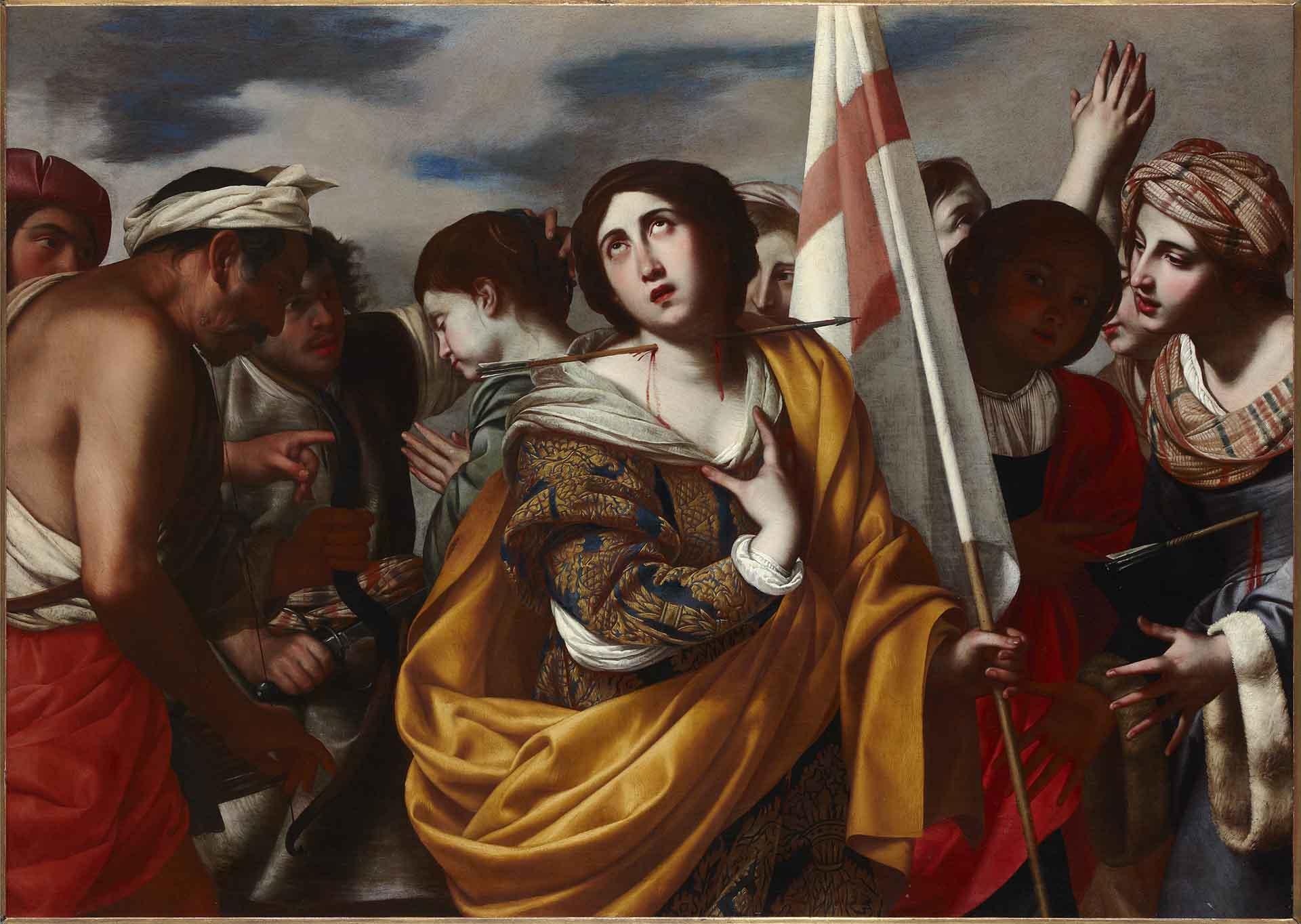 Catalogo Martirio de santa Ursula y las Once Mil Virgenes Filippo Vitale Galeria Caylus