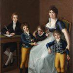 Catalogo Retrato de Dona Ursula Lopez Azcutia y sus cuatro hijos Galeria Caylus