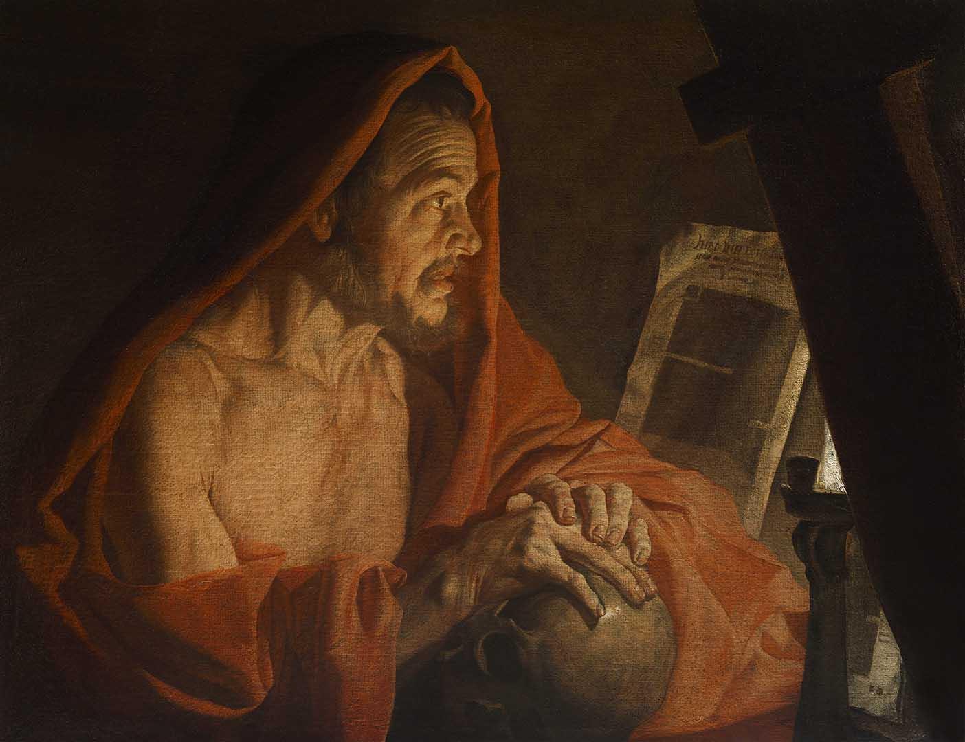 Catalogo San Jeronimo Matthias Stomer Galeria Caylus