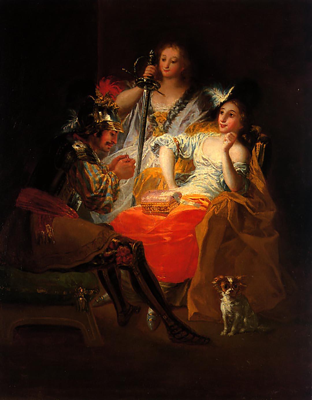 Ventas destacadas Francisco de Goya y Lucientes Hércules y Onfale Galería Caylus