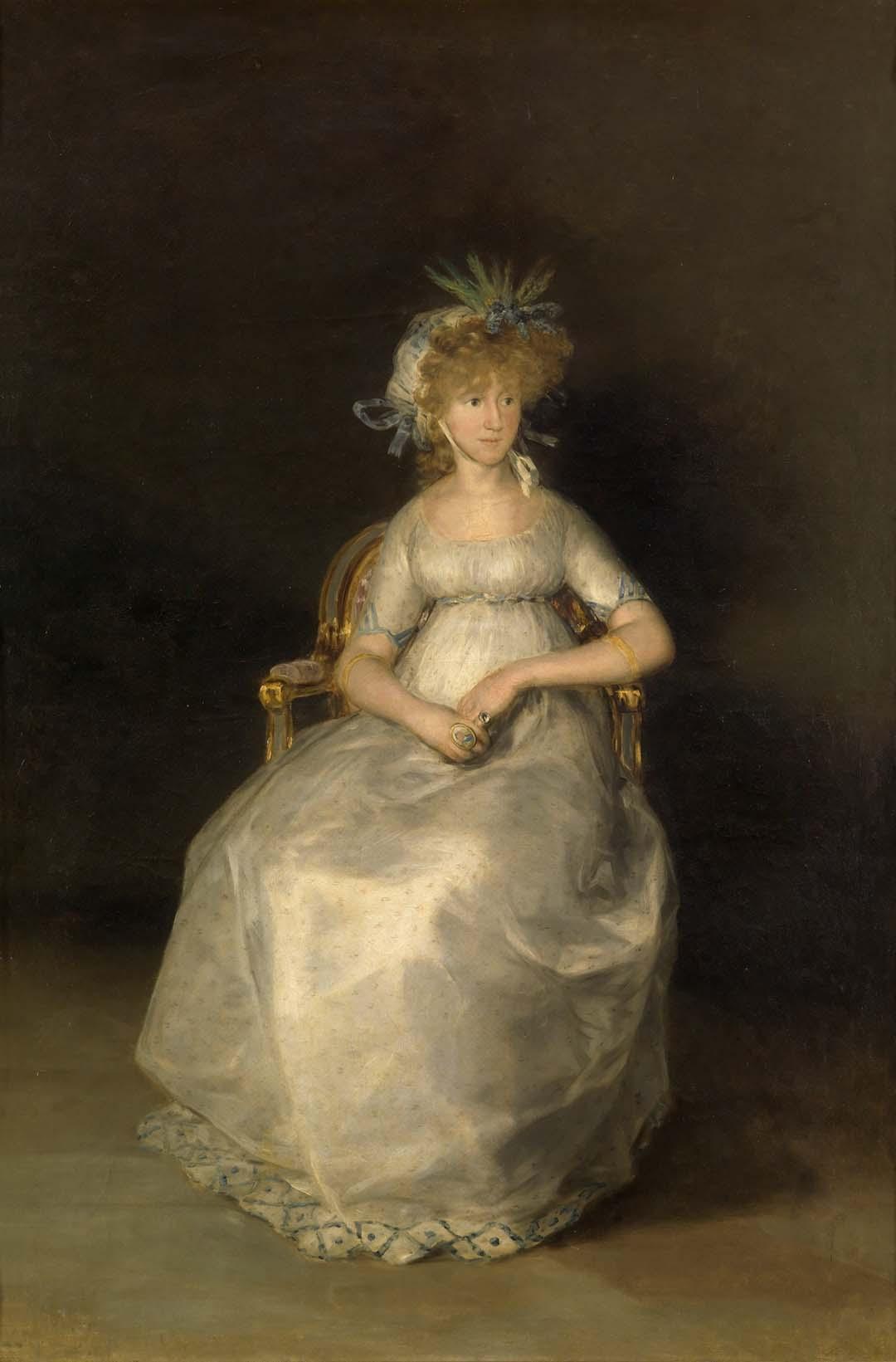 Ventas destacadas Francisco de Goya y Lucientes La condesa de Chinchón Galería Caylus
