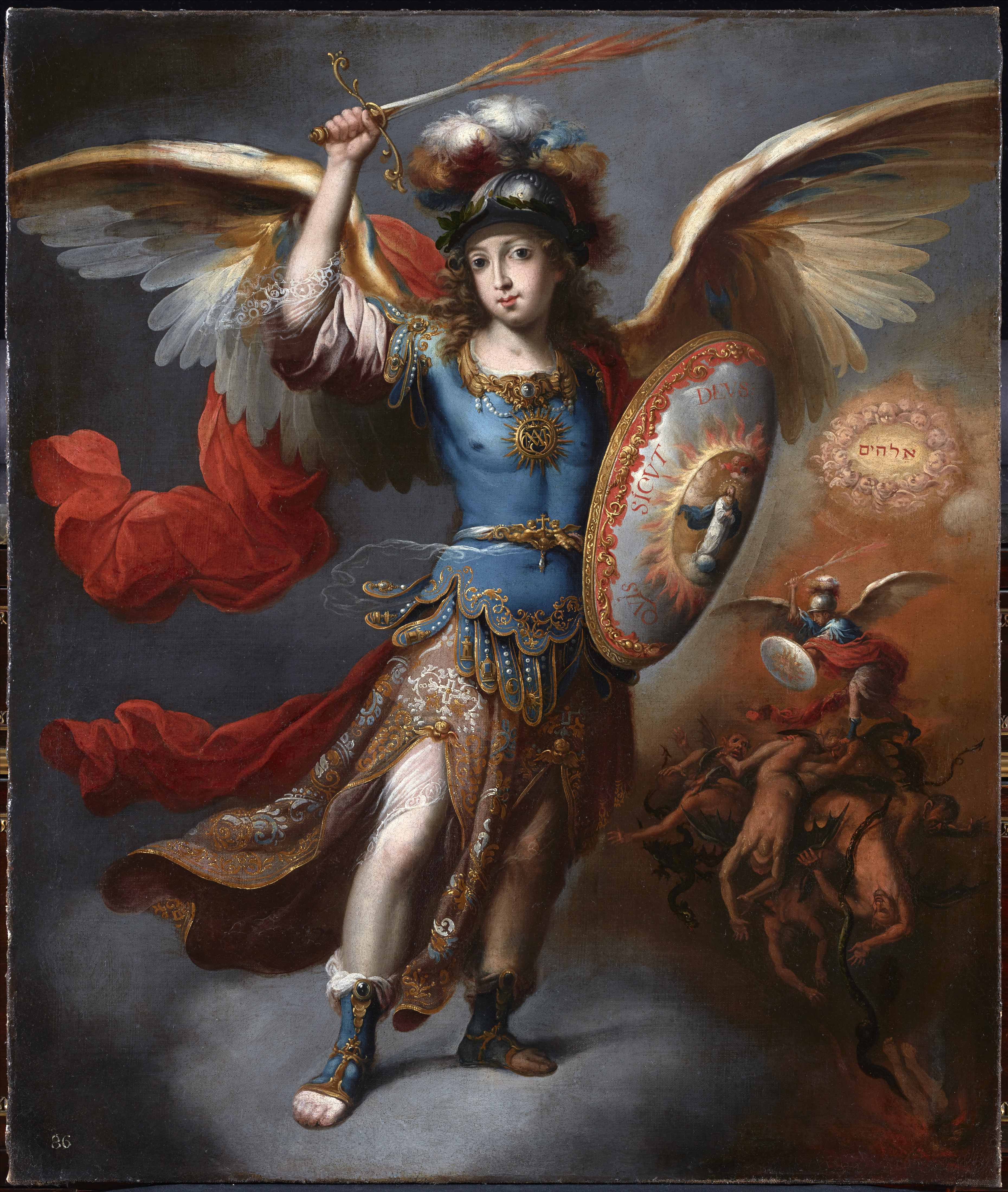 The Archangel Michael and The Archangel Raphael